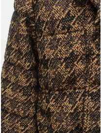 Coohem Brown tweed down blazer womens jackets buy online