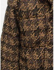 Coohem Giacca imbottita in tweed marrone giubbini donna acquista online