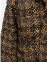 Coohem Brown tweed down blazer 204-020 BROWN buy online