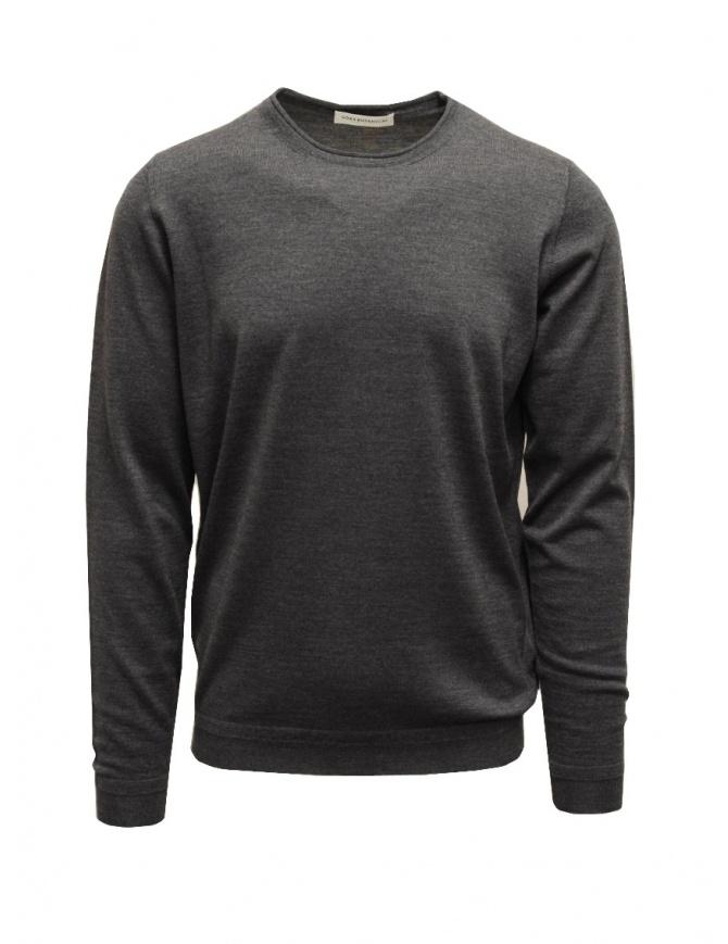 Goes Botanical maglia girocollo grigio acciaio 101 1001 ACCIAIO maglieria uomo online shopping