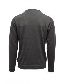 Goes Botanical steel grey crewneck sweater