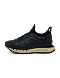Bepositive Cyber Plus black leather sneakers