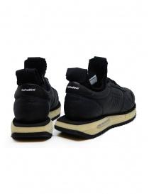Bepositive Cyber Plus black leather sneakers price