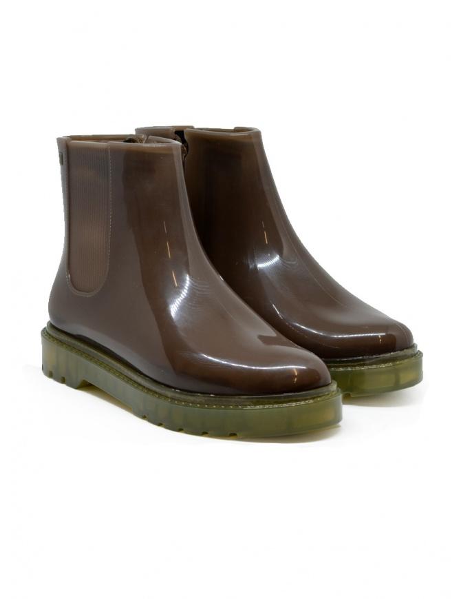 Melissa Storm stivaletto antipioggia marrone 32831-53655 BWN-YEL calzature donna online shopping