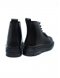 Melissa Coturno black shiny rubber boots price