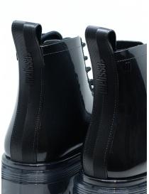 Melissa Coturno anfibi in gomma lucida neri calzature donna acquista online