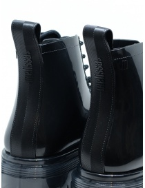 Melissa Coturno black shiny rubber boots womens shoes buy online