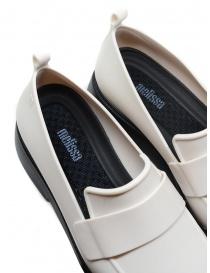 Melissa Flash mocassini beige in gomma calzature donna prezzo