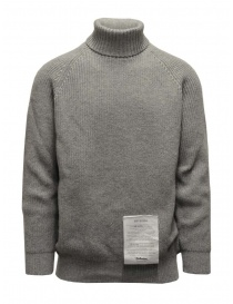 Ballantyne Raw Diamond grey turtleneck sweater online