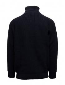Ballantyne Raw Diamond dark blue turtleneck sweater