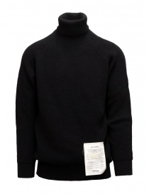 Ballantyne Raw Diamond black turtleneck sweater online