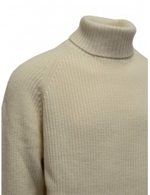 Ballantyne Raw Diamond white turtleneck
