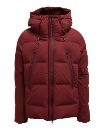 Mens jackets online: Allterrain Mountaineer Mizusawa maroon red down jacket