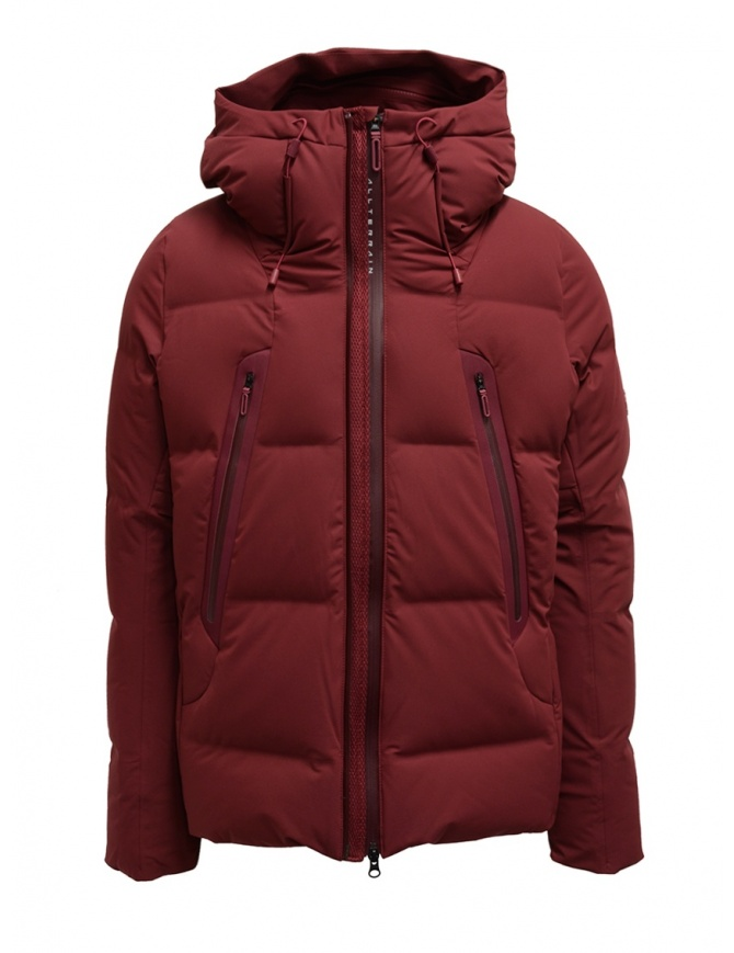 Allterrain Mountaineer Mizusawa maroon red down jacket DAMQGK30U RDMR mens jackets online shopping
