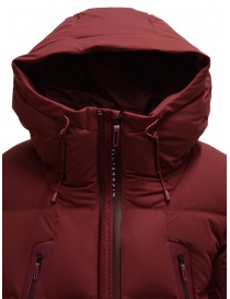 Allterrain Mountaineer Mizusawa maroon red down jacket mens jackets buy online