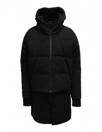 Mens jackets online: Allterrain Mizusawa Stratum 2 in 1 down jacket black