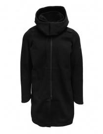 Descente Fusionknit Canvas cappotto lungo in tessuto riciclato DJMQGK01 BK order online