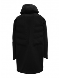 Descente Fusionknit Canvas long coat in recycled fabric price