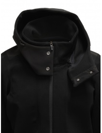 Descente Fusionknit Canvas long coat in recycled fabric