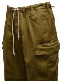 Cellar Door biscuit-colored cargo pants mens trousers buy online