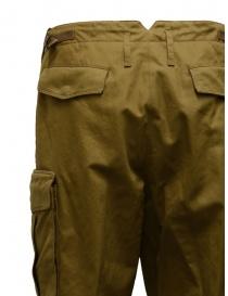 Cellar Door biscuit-colored cargo pants
