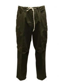 Cellar Door dark green cargo pants online
