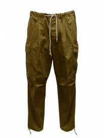 Cellar Door biscuit-colored cargo pants CARGO C MC138 07 BISCOTTO order online