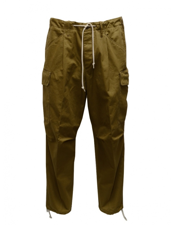Cellar Door biscuit-colored cargo pants CARGO C MC138 07 BISCOTTO mens trousers online shopping