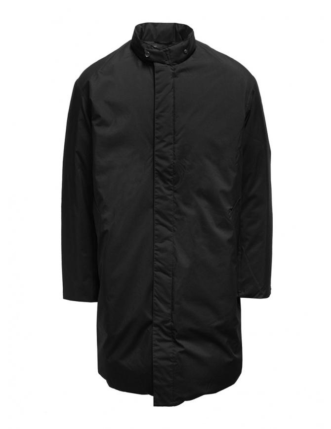 Piumino nero Descente Pause con collo alla coreana DLMQJC36 BK cappotti uomo online shopping