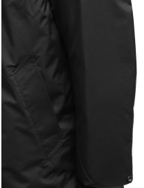 Descente Pause black down jacket with mandarin collar mens coats buy online