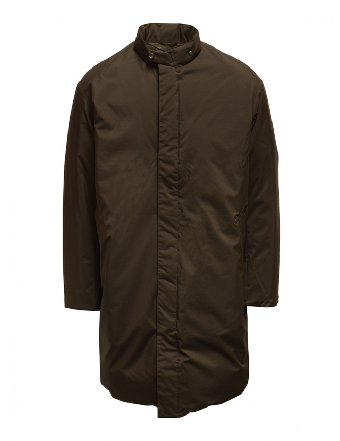 Descente Pause brown stand collar down coat DLMQJC36 BWD mens coats online shopping