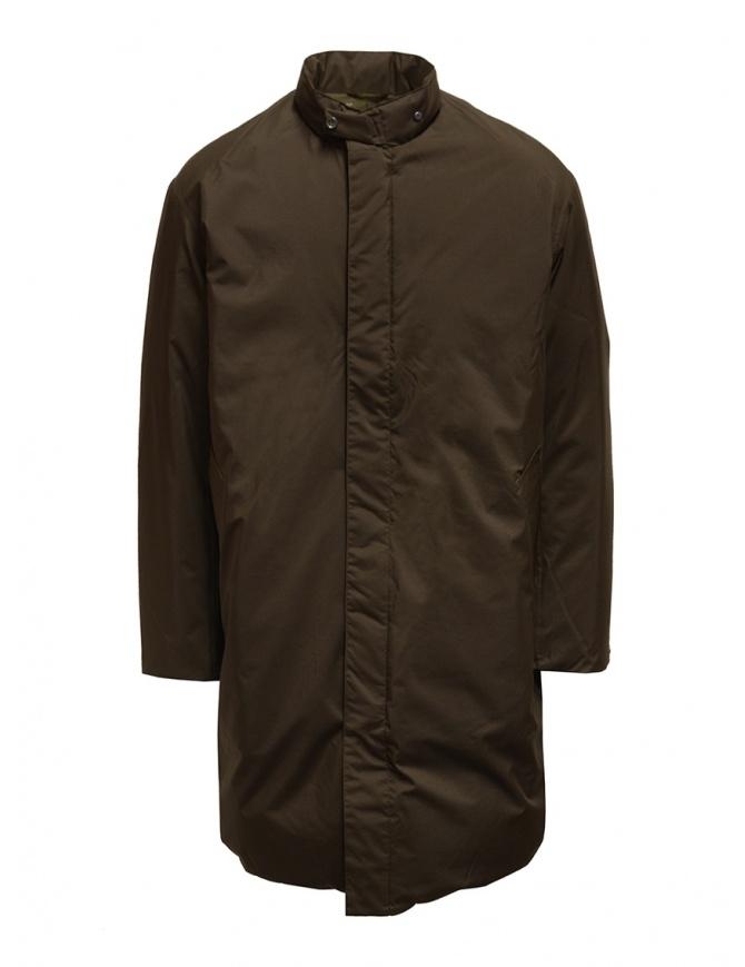 Descente Pause cappotto con collo alla coreana marrone DLMQJC36 BWD cappotti uomo online shopping