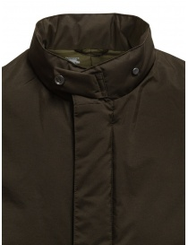 Descente Pause brown stand collar down coat