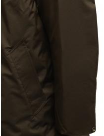 Descente Pause cappotto con collo alla coreana marrone cappotti uomo acquista online