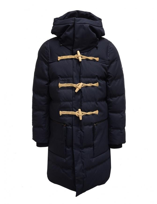 Allterrain X Gloverall Monty-MD blue padded duffle coat DX-G0186U NVGR mens coats online shopping