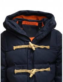 Allterrain X Gloverall Monty-MD blue padded duffle coat