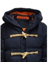 Allterrain X Gloverall Monty-MD blue padded duffle coat shop online mens coats