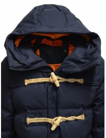 Allterrain X Gloverall Monty-MD blue padded duffle coat mens coats buy online