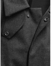 Descente Pause giaccone in misto lana grigio
