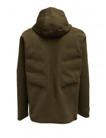 Descente Fusionknit Crescent giacca verde con cappuccio