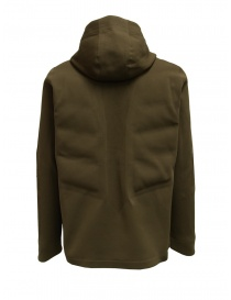 Descente Fusionknit Crescent green hooded jacket