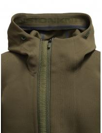 Descente Fusionknit Crescent giacca verde con cappuccio prezzo