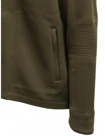 Descente Fusionknit Crescent giacca verde con cappuccio maglieria uomo acquista online