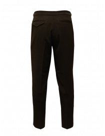 Cellar Door brown trousers with pleats