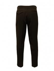 Cellar Door brown trousers with pleats buy online