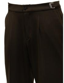 Cellar Door brown trousers with pleats price