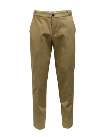 Mens trousers online: Cellar Door classic style trousers in beige