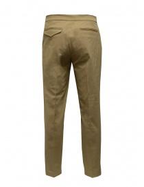 Cellar Door pantaloni beige taglio classico