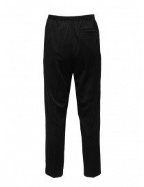 Cellar Door Alfred black trousers with elastic waist price
