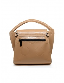 Zucca polka dot mini bag in beige eco leather